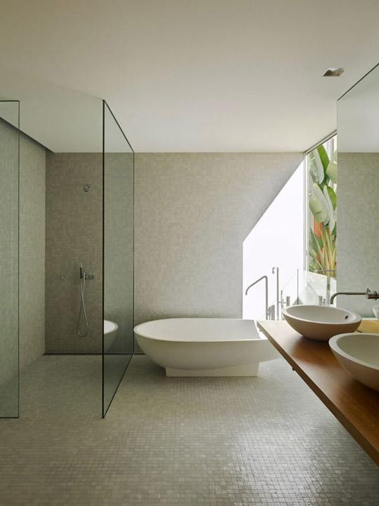Baños Minimalistas De Lujo:Fotos de baños minimalistas – Chalets de Lujo